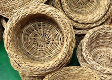 Baskets stock photography