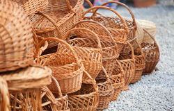Baskets royalty free stock photography