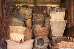 The baskets Royalty Free Stock Photo