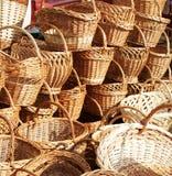 Baskets royalty free stock photo