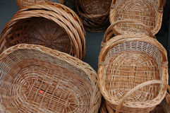 Baskets. Picnic baskets Royalty Free Stock Photos