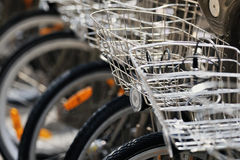 Baskets bike Royalty Free Stock Photos