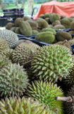 Baskets of Durians Stock Image