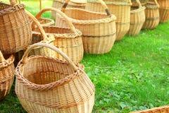 Baskets on fair Stock Photos