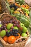 Baskets of fruit. Baskets full of fruit Stock Photo