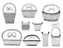 Baskets Stock Image