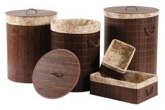Baskets. Isolated Royalty Free Stock Image