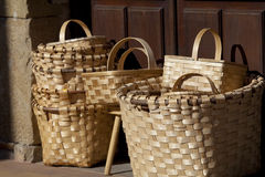 Baskets in Lierganes, Cantabria Royalty Free Stock Photos