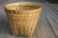 Baskets made from bamboo Stock Images
