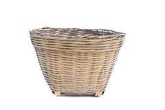 Baskets made of bamboo Royalty Free Stock Photo