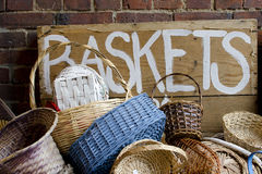 Baskets Royalty Free Stock Images