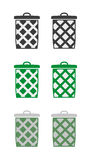 Baskets Royalty Free Stock Photos