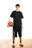basketspelarebarn royaltyfri foto