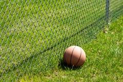 Basketstaket fotografering för bildbyråer