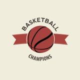 Basketsymbol Fotografering för Bildbyråer