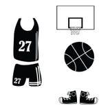 basketsymboler Arkivfoton