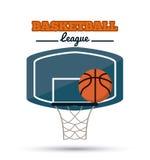 Basketsymbolsdesign Arkivbild