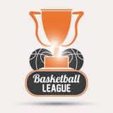 Basketsymbolsdesign Arkivbilder