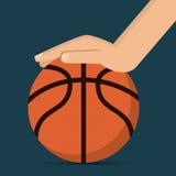 Basketsymbolsdesign Royaltyfri Bild