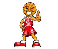 basketteckenspelare Fotografering för Bildbyråer