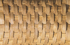 BasketWeave. Fall of lighting on a pattern of a weaved basket Royalty Free Stock Photography