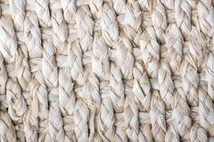 Basketwork сделанный с толстой картиной текстуры веревочки Стоковая Фотография RF