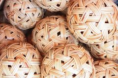 Basketwork Royalty Free Stock Photo