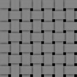 Basketwork-grå färger abstrakt begrepptextur för bakgrund Arkivfoto