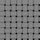 Basketwork-Gray Abstract texture for background. Stock Photo