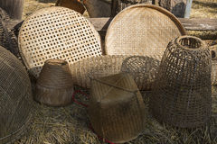 Basketwork handmade from nature Royalty Free Stock Photography