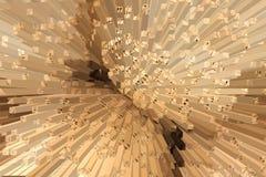 Basketwork.Handmade wicker.blur. Royalty Free Stock Images