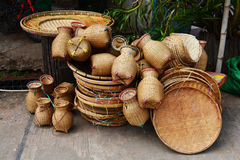 Basketwork Royalty Free Stock Photography