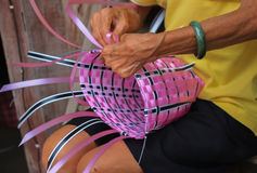 Basketwork. From Koh Kred, Thailand Stock Images