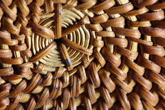 Basketwork. A macro photo of basketwork as background stock photo