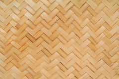 Basketwork. A basketwork made from bamboo Royalty Free Stock Photography