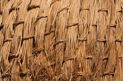 Basketwork texture background. Of dry grass basketwork Stock Image