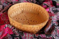 Basketwork on vintage background Royalty Free Stock Images