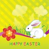 Baskground heureux de Pâques Photo stock