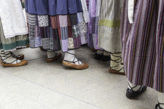 Baskijscy klasyków buty Obraz Royalty Free