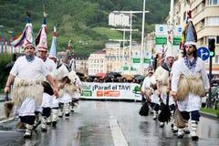 baskijska środowiskowa manifestacja Zdjęcia Stock