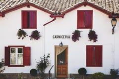 baskijski dom na wsi Zdjęcia Royalty Free