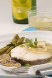 baskijski kuchni morszczuka spanish styl zdjęcie royalty free