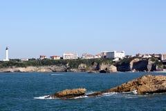 baskijski morze Obraz Stock