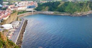 baskijski widok Zdjęcie Stock