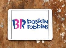 Baskin robbins logo Zdjęcie Stock