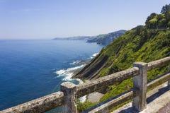 Baskische Küste Stockfoto