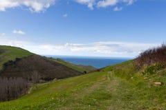 Baskische kust, Frankrijk, Spanje Royalty-vrije Stock Fotografie
