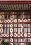 Baskische Landarchitektur Lizenzfreie Stockfotos