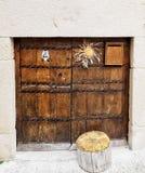 Baskische Tür Lizenzfreies Stockfoto