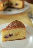 Baskischer Kuchen Stockfotografie